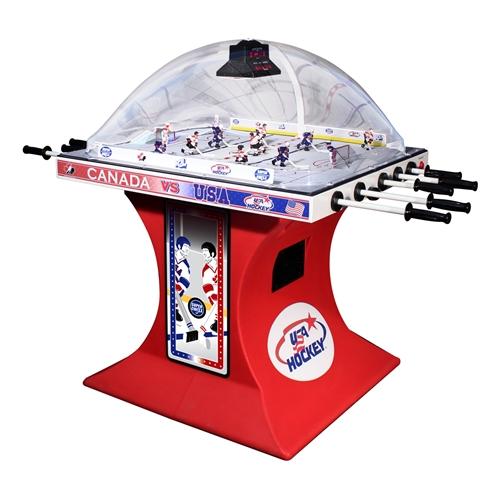 SUPER CHEXX Bubble Dome Hockey Arcade Machine Game For HOME For Sale  Original   Classic!