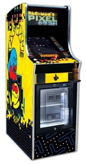 Pac Man S Pixel Bash W Mini Fridge